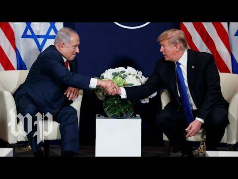 Trump welcomes Netanyahu to the White House