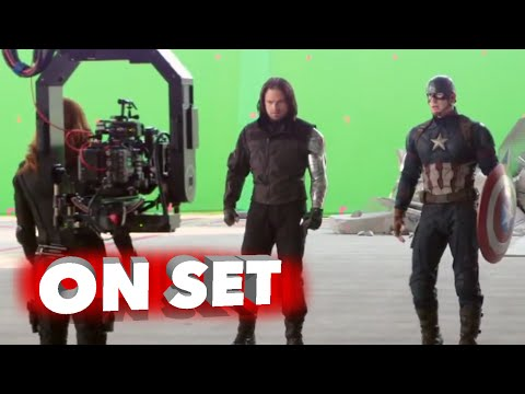 Captain America: Civil War: Behind the Scenes Movie Broll- S