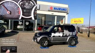 2017 Suzuki Jimny 1.3 ESP All Grip Pro - 4x4 diagonal test on rollers - part 1/2