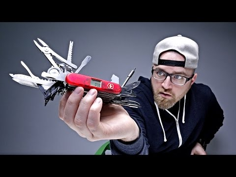 Thumbnail: THE CRAZIEST SWISS ARMY KNIFE