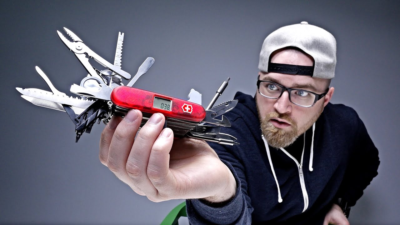 d8868cd3d70 THE CRAZIEST SWISS ARMY KNIFE - YouTube