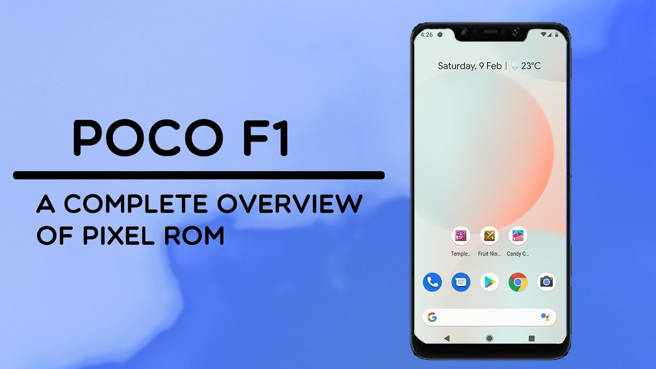 POCOPHONE F1 - PIXEL EXPERIENCE ROM | REVIEW & FEATURES | BEST STABLE  ANDROID 9 0 PIE CUSTOM ROM