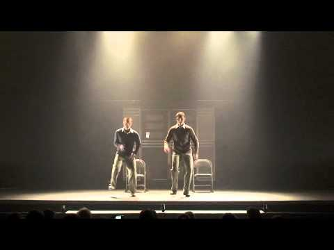 "Danny and Aaron perform ""Moses Supposes"""