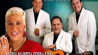 Y Volvere - Trio Los Panchos y Maria Martha Serra Lima   (Version Estudio)