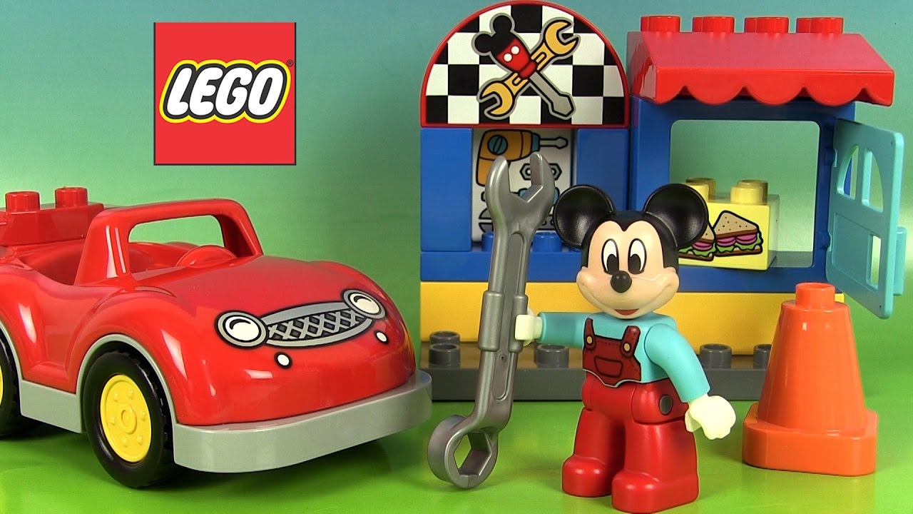 Mickey mouse lego duplo l atelier de mickey jeu de construction youtube - Minnie jeux gratuit ...