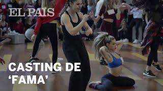 Primer casting de 'Fama' en Madrid | Televisión