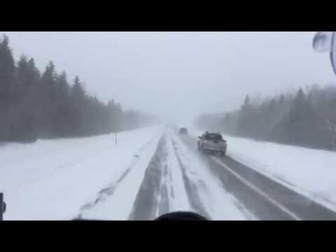 Дальнобой Канада-Дальнобой 5 минут пути, Канада 2016,, 5 Minutes away Canada 2016
