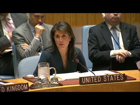 Remarks at a UN Security Council Briefing on Colombia