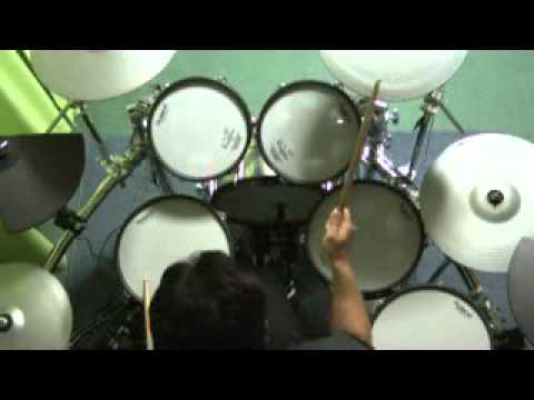 MR.BIG/Out of the Underground (Drum Cover ドラムコピー 叩いてみた)