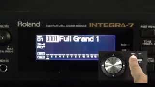 Roland Integra-7 - How to Import Sounds from Axial website
