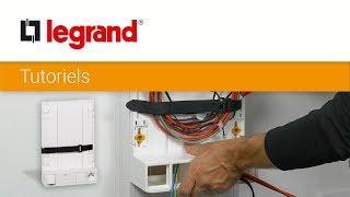 Tutoriel coffret de communication Legrand multimédia : installer un support de box