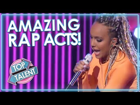 BEST RAP Auditions On Got Talent, X Factor & Idols | Top Tal