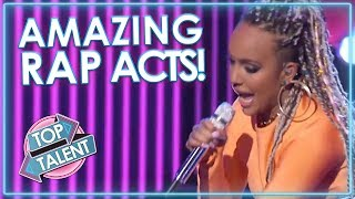 BEST RAP Auditions On Got Talent, X Factor & Idols | Top Talent