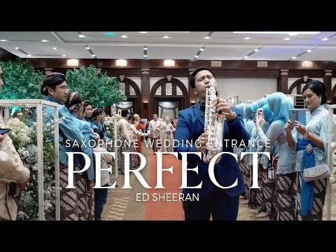 Perfect - Saxophone Cover By Desmond Amos (Wedding Entrance Live)