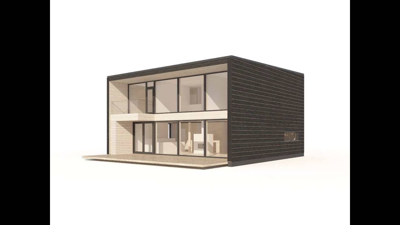 la gamme plusbois polar life haus youtube. Black Bedroom Furniture Sets. Home Design Ideas