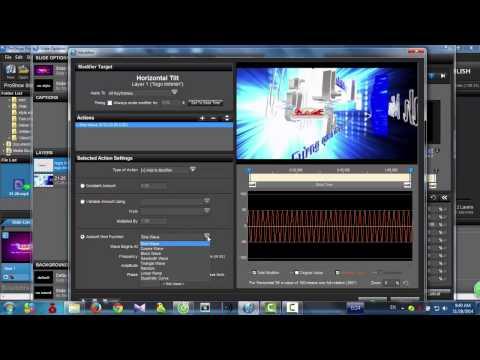 Hướng dẫn tạo hiệu ứng 3D cho logo trong phoshow producer