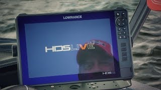 The New Lowrance HDS LIVE Fish Finder - First Look