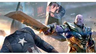 Avengers Endgame Deleted Scene | Captain America Vs Thanos