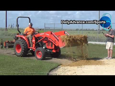 The Daily Advance | Norfolk Tides renovate baseball field at Albemarle School