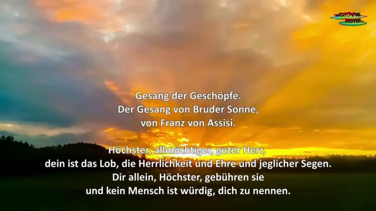 Franz Von Assisi Sonnengesang