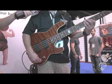 NAMM '11 - Fishman Fission Bass Powerchord FX Demo