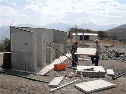 Construccion con paneles de micro youtube for Casas de hormigon precios y fotos