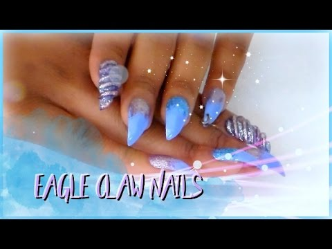 How To Curved Nails Eagle Claw