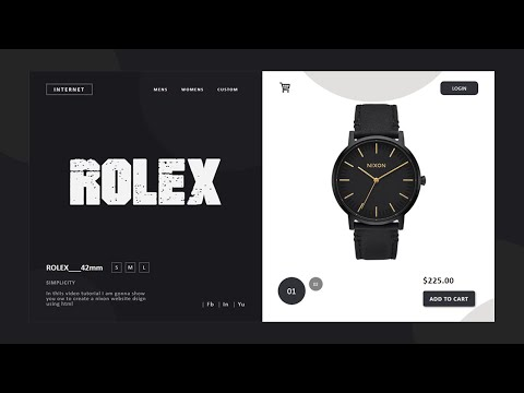 Create A E-commerce Website Using HTML CSS & JQuery | Shopping Website Design | Going-To Internet thumbnail
