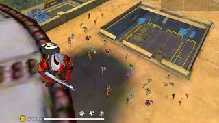 🔥Dangerous Gameplay on factory Roof/🔥Garena free fire/🔥 Factory Fist Fight King solo vs Squad/fist