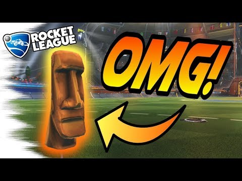Rocket League: The FULL STORY Behind the MOAI EASTER EGG! - Biggest Secrets! (Tips/Gameplay)