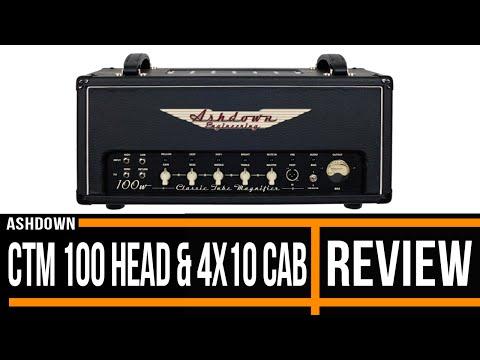Ashdown CTM 100 head & 4x10 cab | Bass Amp Review