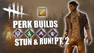STUN & RUN! PT. 2 | Dead By Daylight LEGACY SURVIVOR PERK BUILDS