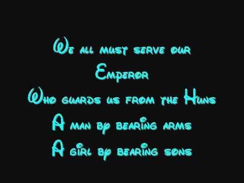 Honour To Us All - Mulan Lyrics