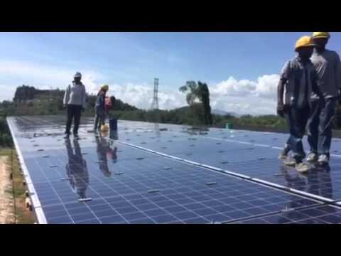 Malaysian solar park