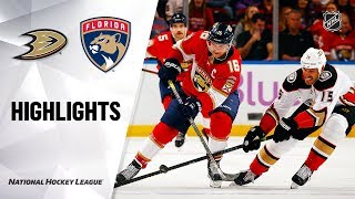 NHL_Highlights_ _Ducks_@_Panthers_11/21/19