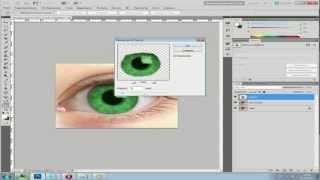 Смена цвета глаза Adobe Photoshop CS5 - Видео-урок.