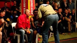George Sonio fights challenger - Outback Fight Club - Wynnum 2015