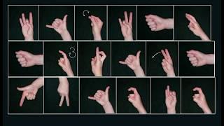 Ручная азбука глухих. Уроки с юмором для слышащих.