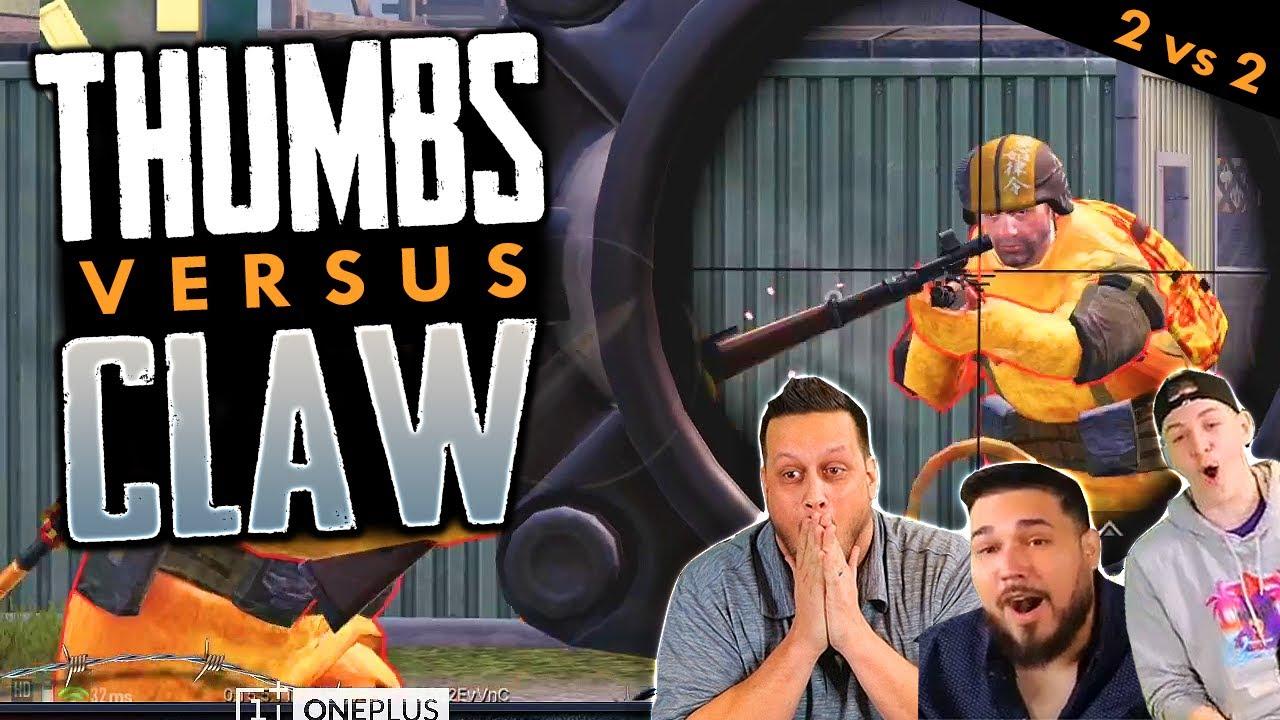 THUMBS vs CLAW - 2v2 SNIPER WAR! + vídeo