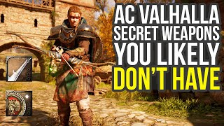 Secret Weapons You Likely Don't Have Yet In Assassin's Creed Valhalla (AC Valhalla Best Weapons)