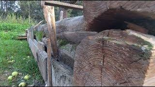 Фундамент под старый сруб