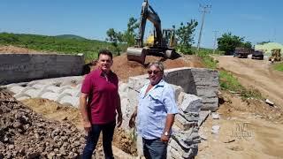 Wanderley Nogueira atende reivindicação e começa a construir bueiro