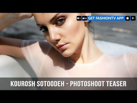 Kourosh Sotoodeh - Photoshoot Teaser   FashionTV