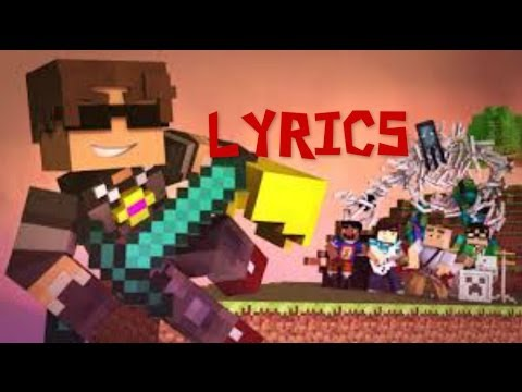 SkyDoesMinecraft - New World Music Video With Lyrics (Coldplay's Paradise Parody)
