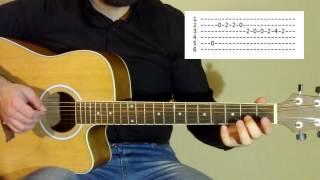 Песня из сериала Друзья на гитаре | Friends main theme - I'll be there for you Acoustic guitar