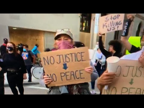 George Floyd Murder: Oakland Protests But Atlanta Downtown Getting It Worse