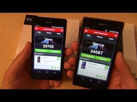 Сравнение Sony Xperia Z1 и Sony Xperia ZR / Арстайл /