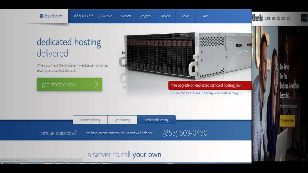 wordpress dedicated server hosting