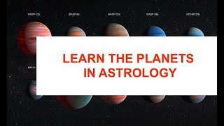 FREE ASTROLOGY LESSONS SERIES - Horary Astrology -  Planets in the Signs