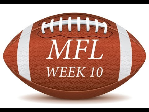 Massachusetts Football League - Top 5 at 5 - Week 10